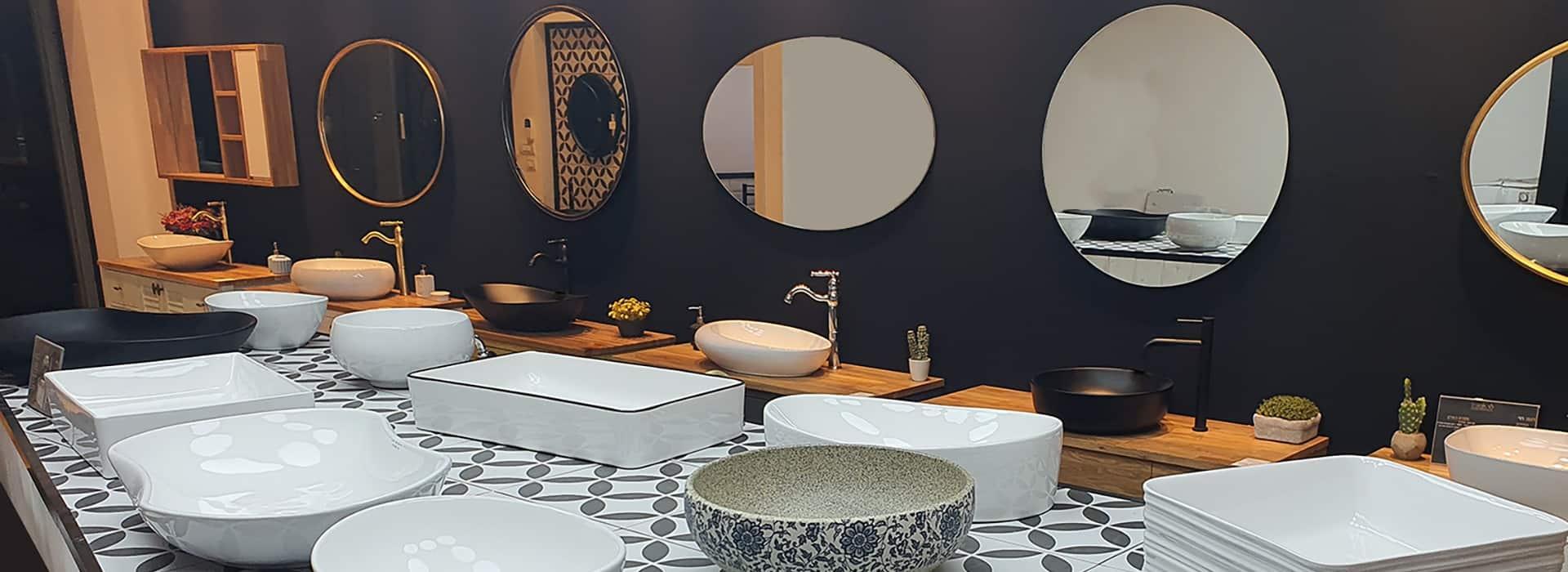 כיורים לארונות אמבטיה