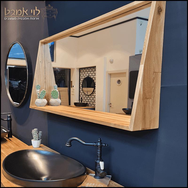 מראה לארון אמבטיה דגם מדף בוצר ארונות אמבטיה
