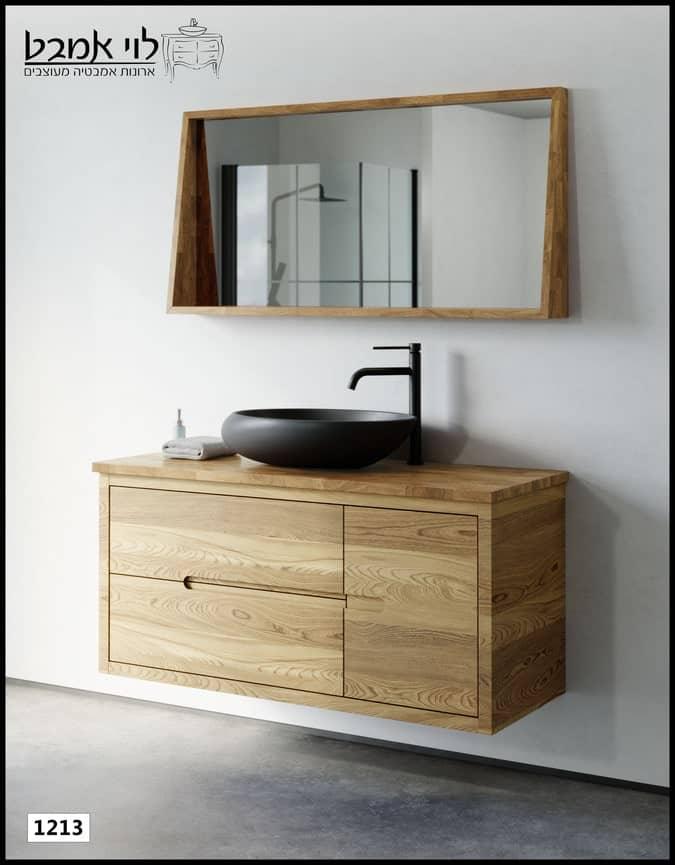 """ארון אמבטיה דגם אלון תלוי רוחב 120 ס""""מ"""