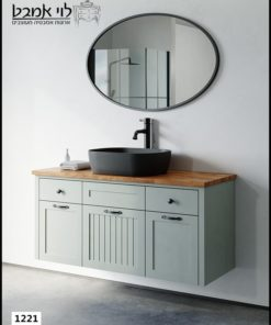 ארון אמבטיה דגם ונציה תלוי רוחב 120 ס