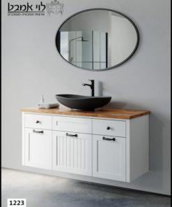 ארון אמבטיה דגם ונציה רוחב 120 ס