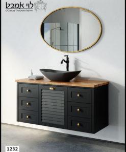 ארון אמבטיה דגם ליאו רוחב 120 ס